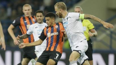 Champions League: Shakhtar igualó con Hoffenheim
