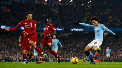 Agüero y Sané se bajan al Liverpool y mantienen con vida a la Premier League