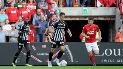 Cristian Benavente jugó los 90' en el empate del Charleroi