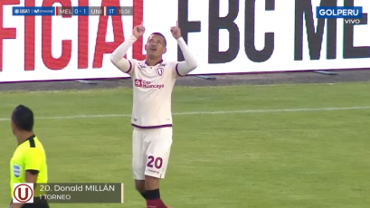 FBC Melgar vs. Universitario: Donald Millán marcó el primer gol de la Liga1 Movistar 2020