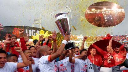 Cienciano festejó el título de la Liga2 por las calles de Cusco (VIDEO)