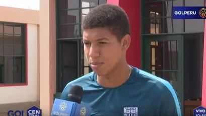 """José Guidino: """"Este año quiero consolidarme con Alianza Lima"""""""