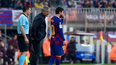 """Quique Setién sobre problemas con Lionel Messi: """"Yo tampoco era un jugador fácil"""""""