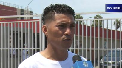 """Daniel Chávez: """"Jugar con Alianza será un buen termómetro para nosotros"""""""