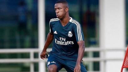 Vinicius Jr. será presentado este viernes en el palco del Bernabéu