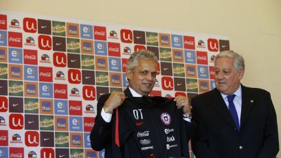 Reinaldo Rueda fue presentado oficialmente como nuevo DT de Chile
