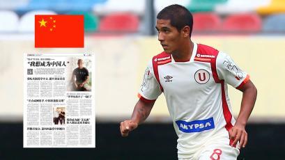 Roberto Siucho busca jugar con la Selección de China
