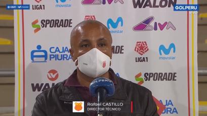 """Rafael Castillo sobre el Sporting Cristal 1-2 Atlético Grau: """"Nos hacía falta un triunfo como este"""""""