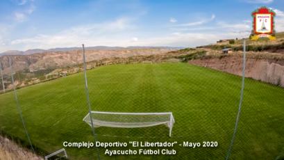 Ayacucho FC: el mantenimiento que le da a sus canchas pensando en el pronto regreso de la Liga1 Movistar