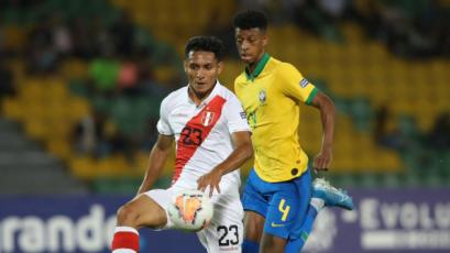 Preolímpico Sub 23: Perú cayó por 1-0 ante Brasil en su debut por el grupo B