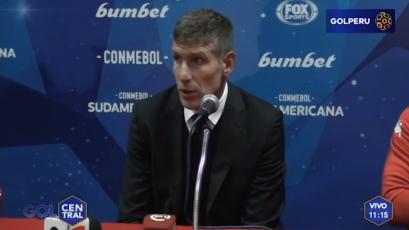 """Martín Palermo: """"Nos vimos superados por Sport Huancayo"""""""