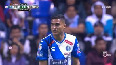 Con Anderson Santamaría de titular, Puebla venció 2-0 a Guadalajara
