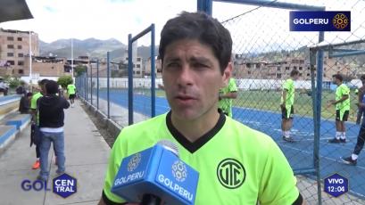 """Emiliano Ciucci: """"Estamos lejos del nivel que pretendemos"""""""