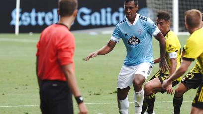 Renato Tapia sumó sus primeros minutos con el Celta de Vigo