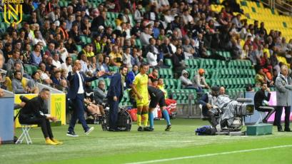 Cristian Benavente debutó con una victoria ante el Montpellier