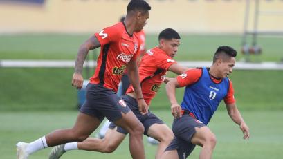 Selección Peruana Sub 23 continúa preparándose para el Preolímpico de Colombia