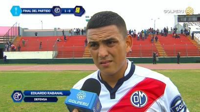 """Eduardo Rabanal: """"Sabíamos que un triunfo nos metía en la pelea"""""""