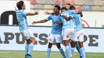 Liga1 Movistar: Sporting Cristal derrotó 2-1 a Ayacucho FC por la semifinal de ida