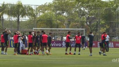 Clasificatorias Sudamericanas: Brasil realizó último entrenamiento antes de viajar a Lima