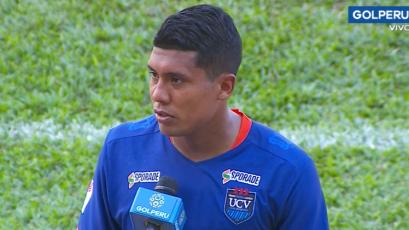 Raziel García valoró el empate de visita ante Unión Comercio: