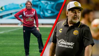 Ricardo Gareca entre los candidatos de Maradona para 'reflotar' el fútbol argentino
