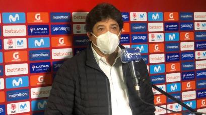 """Víctor Rivera: """"Supimos encontrar el gol y sostener el resultado en base al orden"""" (VIDEO)"""