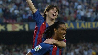 Lionel Messi: se cumplen 15 años de su primer gol con el Barcelona, tras pase de Ronaldinho (VIDEO)