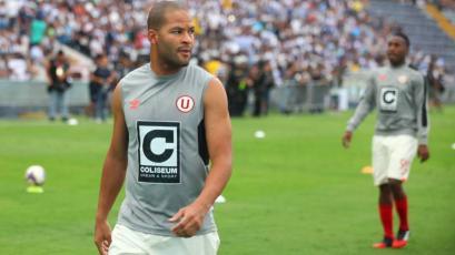 Alberto Rodríguez volvió a entrenar con Universitario de Deportes