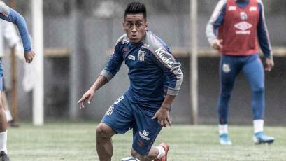 Christian Cueva no jugará más en Santos este año: el director deportivo reveló su futuro