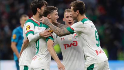 Jefferson Farfán y el Lokomotiv se coronaron como campeones de la Supercopa de Rusia
