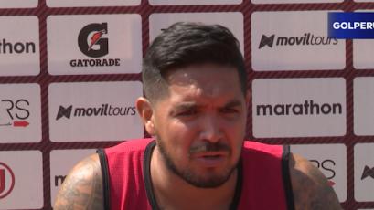 "Juan Manuel Vargas: ""Espero llegar al partido contra Cristal"""