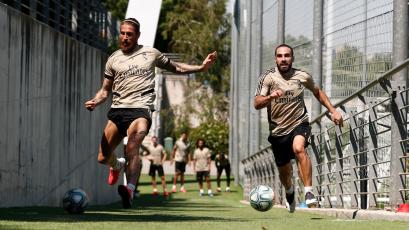 Real Madrid ya entrena en la ciudad deportiva de Valdebebas