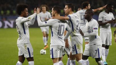Champions League: Chelsea aseguró su pase a la siguiente fase