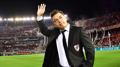 Marcelo Gallardo volvió a ser elegido como el mejor técnico de América