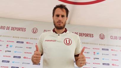"""Hernán Novick: """"Estoy contento de llegar al club más grande del Perú"""""""