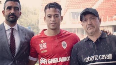 Cristian Benavente es nuevo jugador del Royal Antwerp de Bélgica