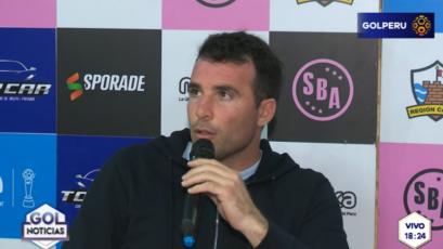 """Manuel Fernández: """"Los entrenadores estamos sujetos a los resultados"""""""