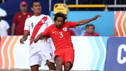 Perú: en Chile recuerdan que Alex Valera les anotó dos goles en la Copa América de fútbol playa (VIDEO)