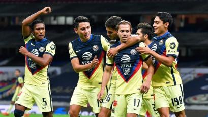 Pedro Aquino debutó con una gran asistencia en el triunfo del Club América por la Liga MX