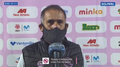 """Teddy Cardama: """"No concretamos nuestras ocasiones y pagamos las consecuencias"""" (VIDEO)"""