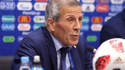 "Óscar Washington Tabárez: ""Francia es un equipo muy poderoso"""