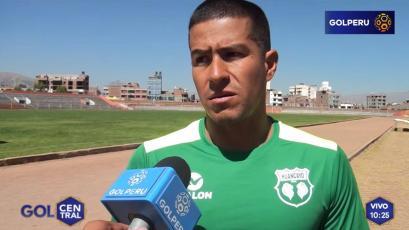 """Marcio Valverde: """"Teníamos que haberle ganado a Alianza Lima"""""""