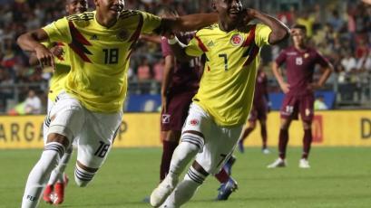 Sudamericano Sub 20: Colombia sorprende a Venezuela