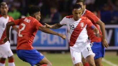 Perú cierra el 2018 cayendo con Costa Rica en Arequipa