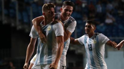 Sudamericano Sub-20: Argentina se destapa y golea 3-0 a Venezuela
