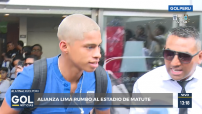 Alianza Lima vs. Deportivo Binacional: Kevin Quevedo y su cambio de look para la segunda final
