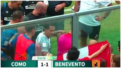 Gianluca Lapadula marcó gol con el Benevento y festejó con bandera peruana (VIDEO)