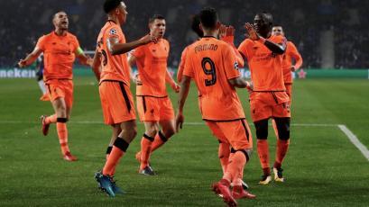 Champions League: Liverpool goleó 5-0 a Porto