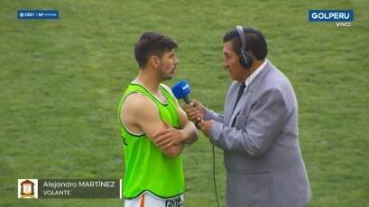 Alejandro Martínez tras la victoria ante Pirata FC: