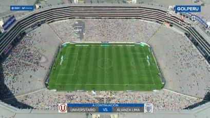 Universitario vs. Alianza Lima: así luce la cancha del Monumental a poco del clásico (VIDEO)